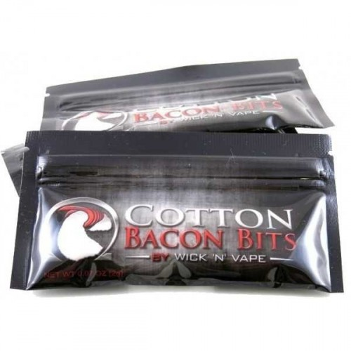 Cotton Bacon Bits By Wick N'Vape