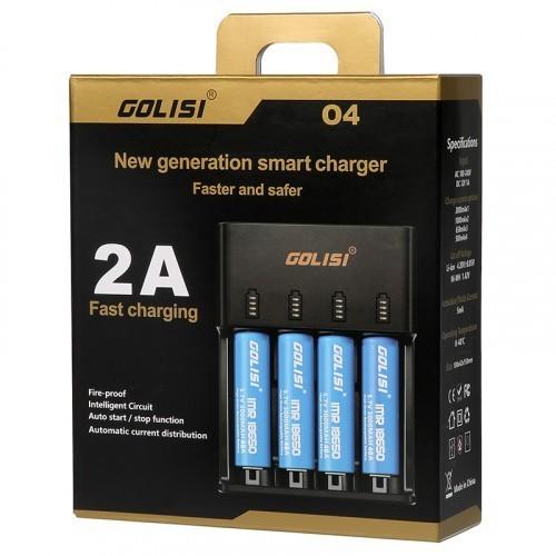 Golisi O4 - Fast Smart Charger 2.0A - Euro Plug
